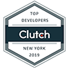 Top Software Developer by Clutch new york in 2019